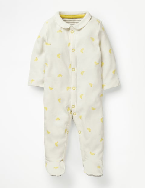 Printed Ducks Sleepsuit