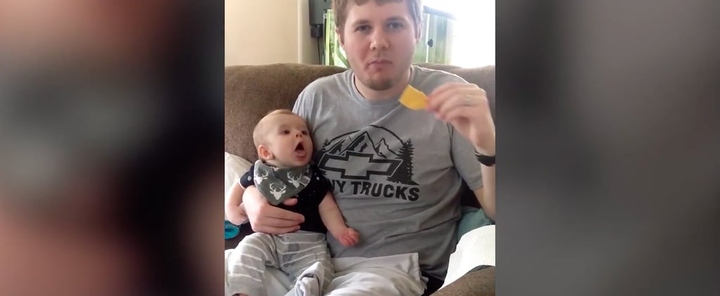 We Can All Relate to This Adorable Baby's Mouthwatering Craving For Potato Chips