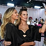 Pictured: Candice Swanepoel and Behati Prinsloo