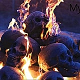 Scary Skull Logs