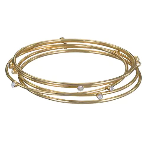 Gold Toned Bangles