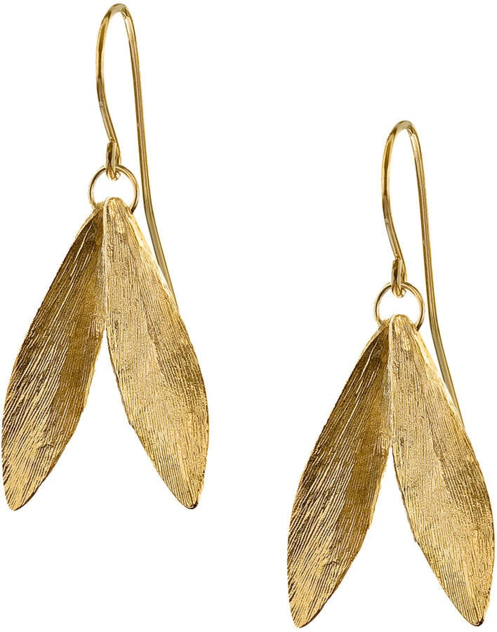 Our Pick: Catherine Zoraida Double Leaf Earrings