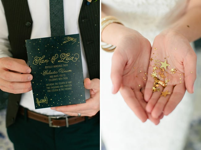 Starry Invitations