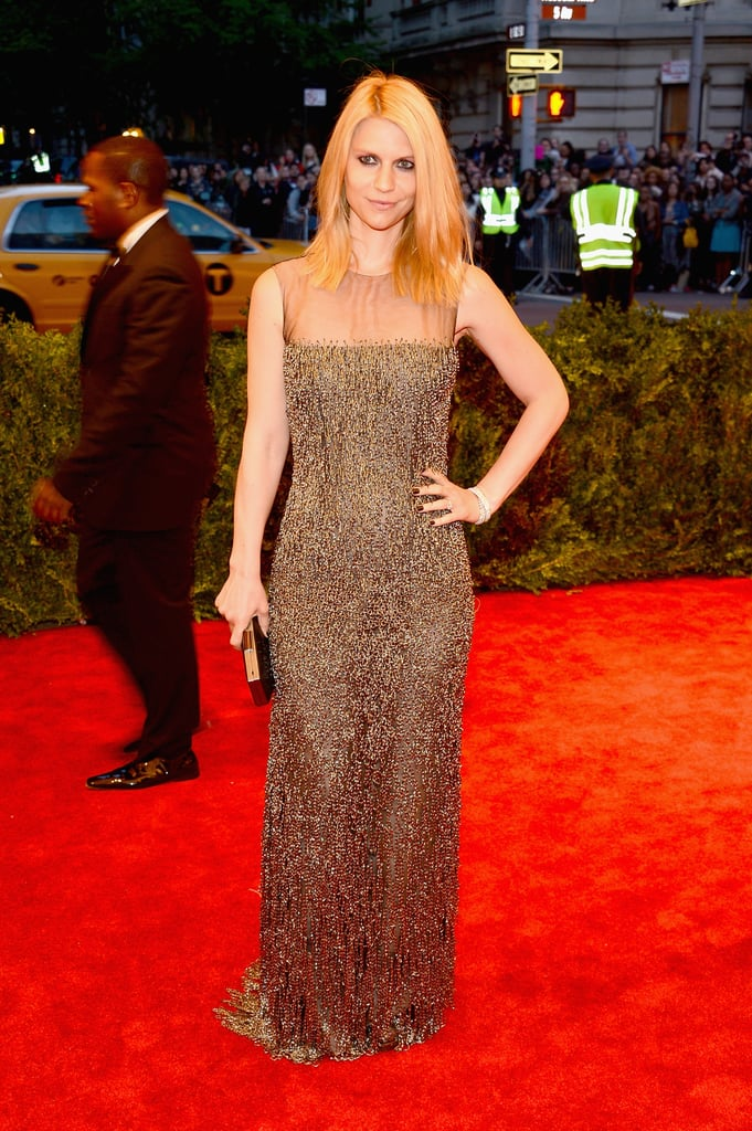 Claire Danes at the Met Gala 2013.