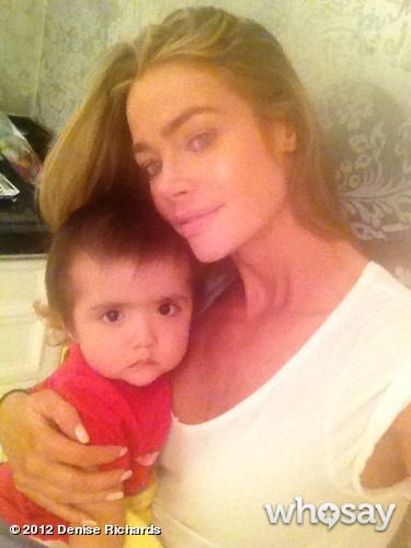 Denise Richards's Greatest Hug