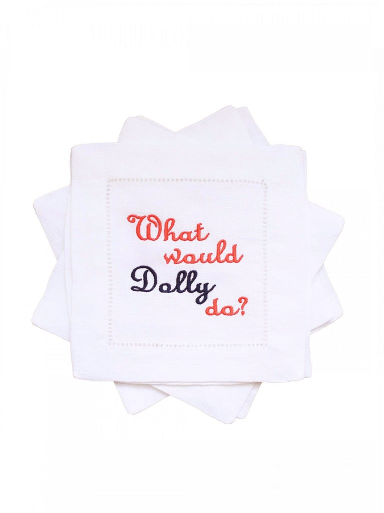 Draper James What Would Dolly Do? Cocktail Napkins