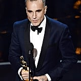 Daniel Day-Lewis won best actor at the 2013 Oscars.