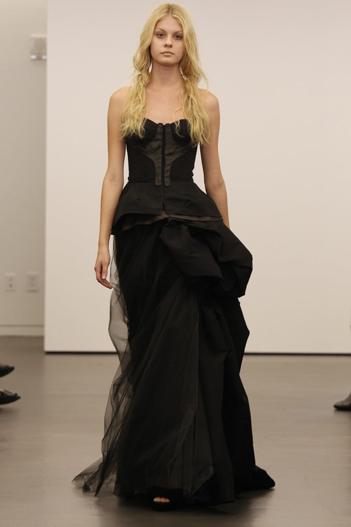 Vera wang black wedding dresses pictures popsugar fashion vera wang bridal fall 2012 junglespirit Images