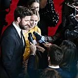 Emily Blunt and John Krasinski 2019 AACTA Awards Pictures