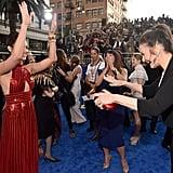 Gal Gadot and Lynda Carter at Wonder Woman Premiere 2017