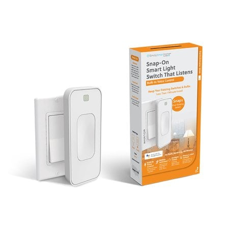 Switchmate Slim Voice-Activated Wire-Free Smart Switch