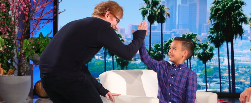 This Little Boy Getting Starstruck Over Ed Sheeran Is the Cutest Thing You'll See All Day
