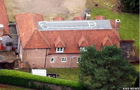 60-Foot Penis Painted on Roof
