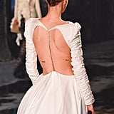 An Open-Back Dress on the Khaite Fall 2020 Runway at New York Fashion Week