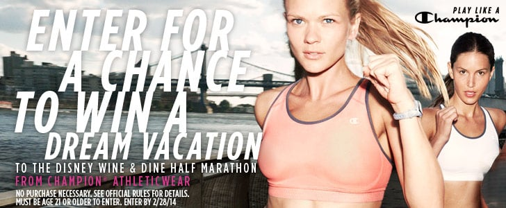 Enter to Win the Champion® Athleticwear Mix/Match & Marathon Sweepstakes