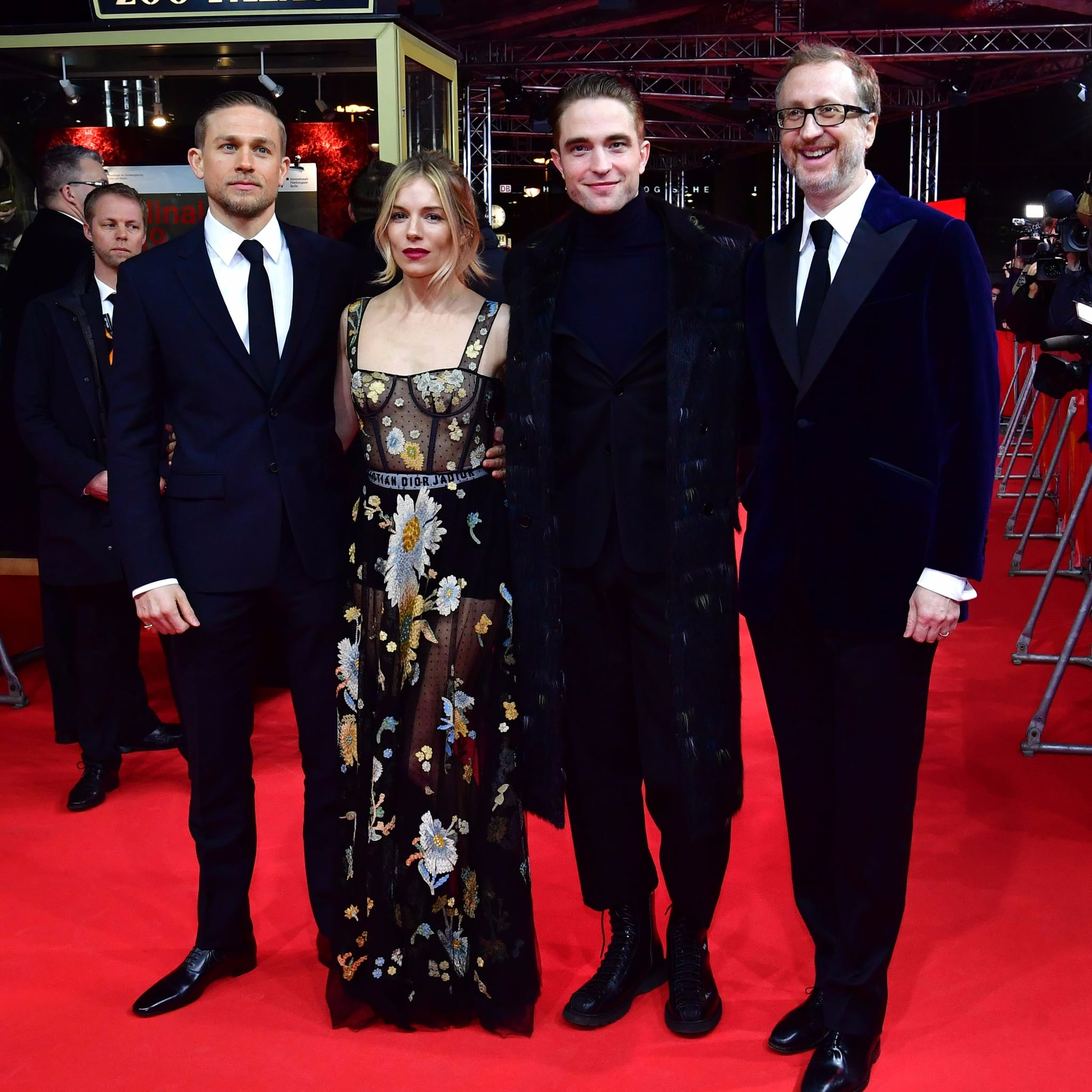 Robert Pattinson And Charlie Hunnam At Lost City Of Z Berlin Popsugar Celebrity