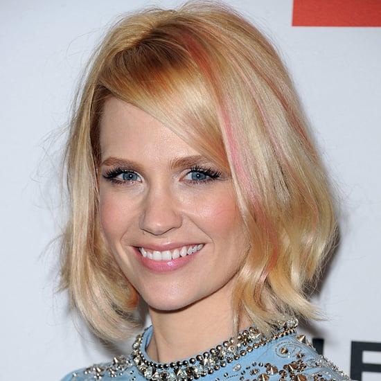 January Jones Pink Hair
