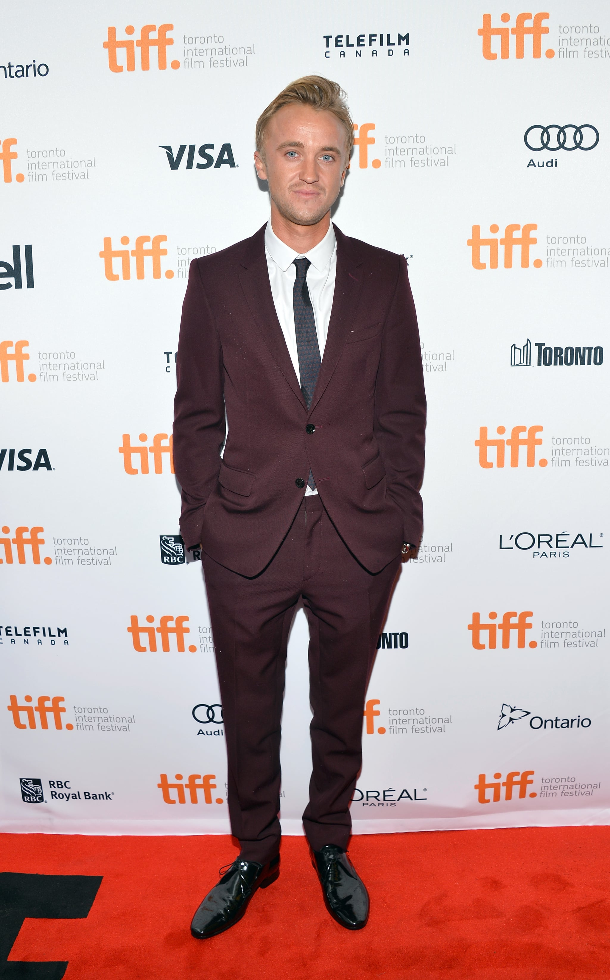 Tom Felton was on hand for the premiere of Therese.