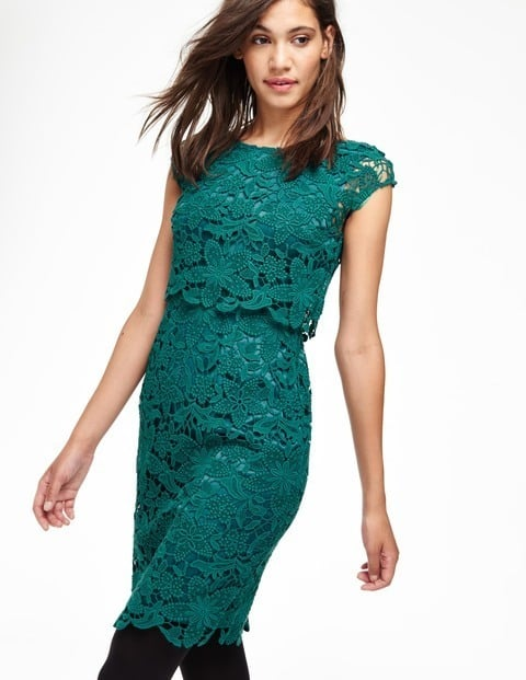 Boden Double Layer Lace Dress | Beautiful Winter Wedding-Guest ...