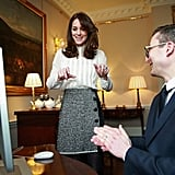 Kate Middleton's Dolce and Gabbana Skirt at Huffington Post