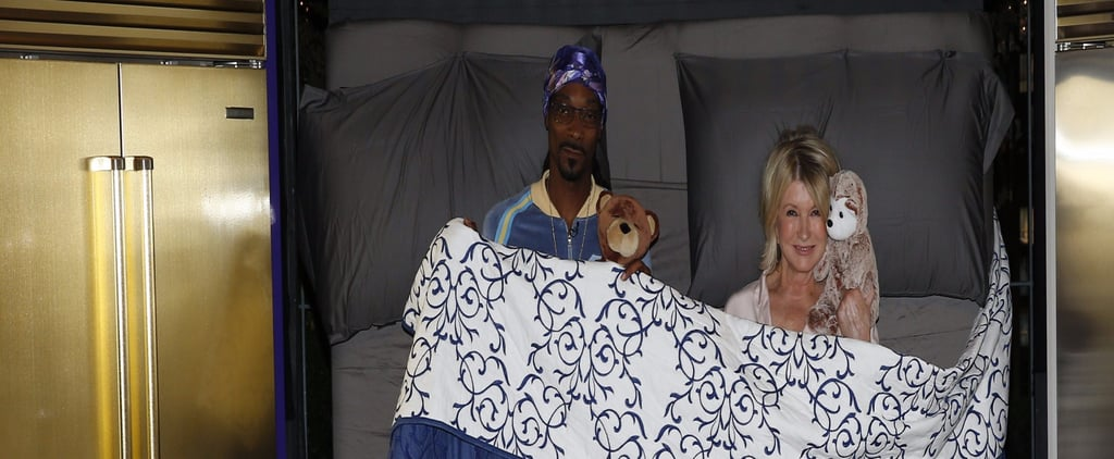 Martha Stewart and Snoop Dogg MTV Movie & TV Award