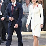 Prince William and Kate Middleton Attend the Passchendaele Commemorations in Belgium