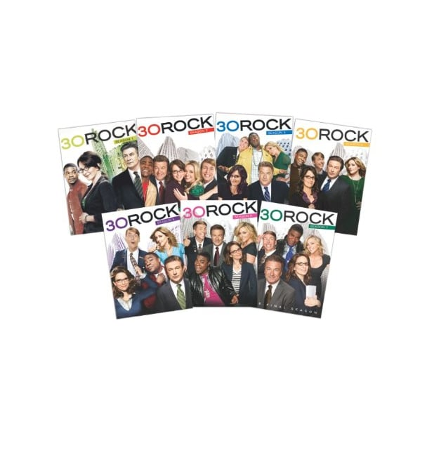 30 Rock: Seasons 1-7 ($103)