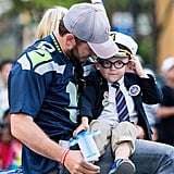 Chris Pratt and Anna Faris at Seafair Torchlight Parade 2016