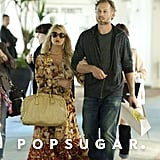 Jessica Simpson and her fiancé, Eric Johnson, headed overseas to the Italian island of Capri.