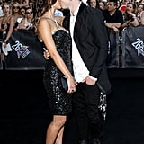PDA alert! Loved-up couple Rhiannon Fish and Reece Mastin kept the love alive on the 2012 ARIAs red carpet in Sydney on November 29.