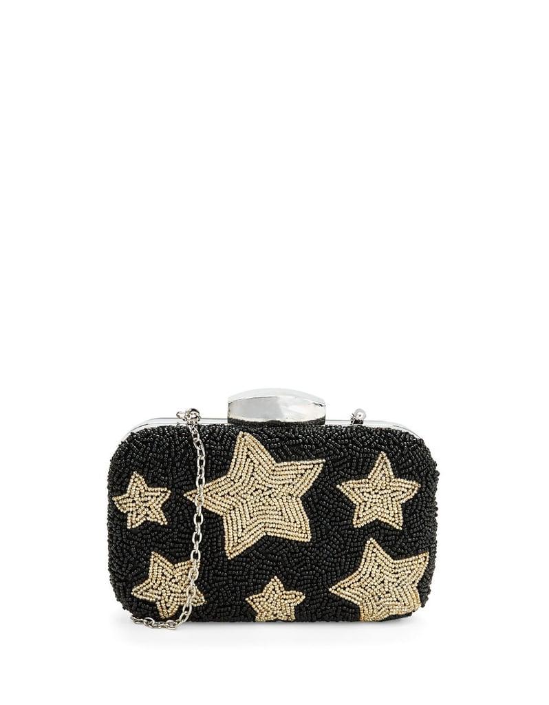 La Regale Beaded Star Minaudiere ($118)