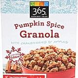 365 Everyday Value Pumpkin Spice Granola ($5)