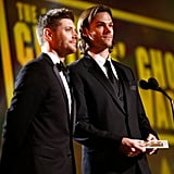 Jensen's Supernatural Smile Lights Up the Critics' Choice Awards