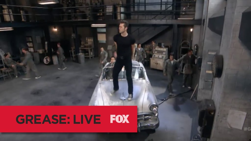 grease live song videos popsugar celebrity australia