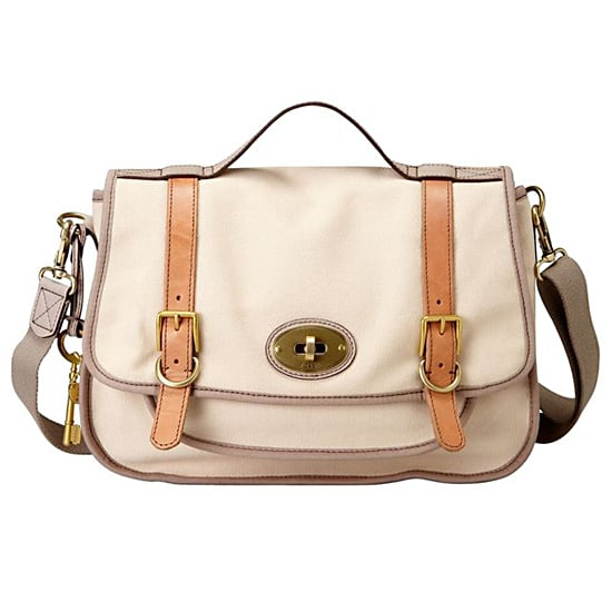 Fossil Vintage Reissue Canvas Handbag, $128