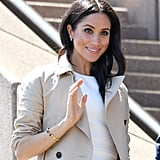 Meghan Markle Wearing Princess Diana's Jewelry