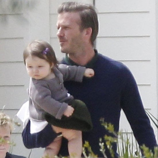 Victoria David Harper Beckham Pictures Easter 2012 in Napa