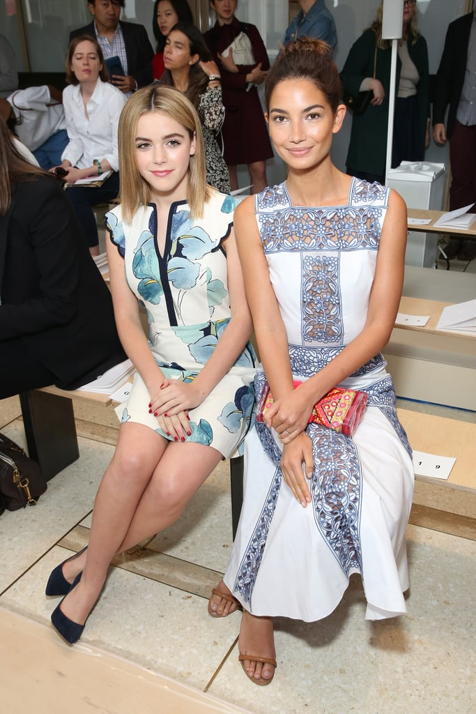 Kiernan Shipka and Lily Aldridge