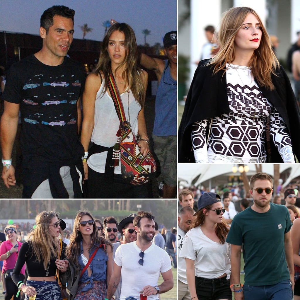 Pictures of Celebrities at 2013 Coachella