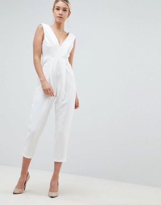 Parallel Lines Luxe Tuxedo Jumpsuit