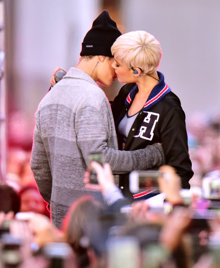 Justin Bieber and Halsey Performing on the Today Show 2015 ... Ellen Page Number