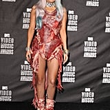 Lady Gaga in a Meat Dress