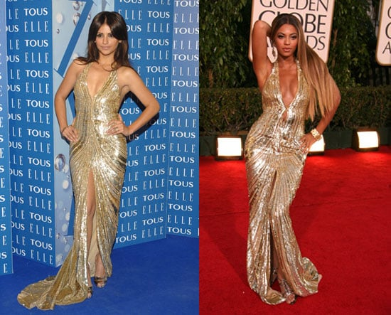 Who Wore It Better? Elie Saab Metallic Gown