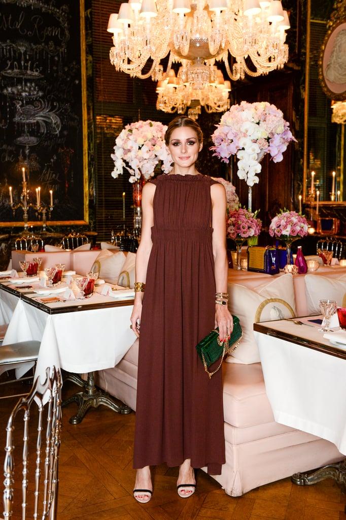 Olivia Palermo at Paris Haute Couture Fashion Week Spring 16