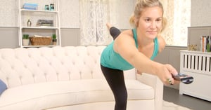 6 Ways to Work Out While Watching TV