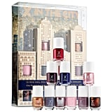 """Make your holiday get together a holiday nail party. Share the latest gossip while having holiday cocktails at home. This gift is great to catch up with a BFF who you haven't seen all year! P.S., throw in some face masks for the ultimate home spa experience.""  Formula X City Chic Nail Set  ($35)"