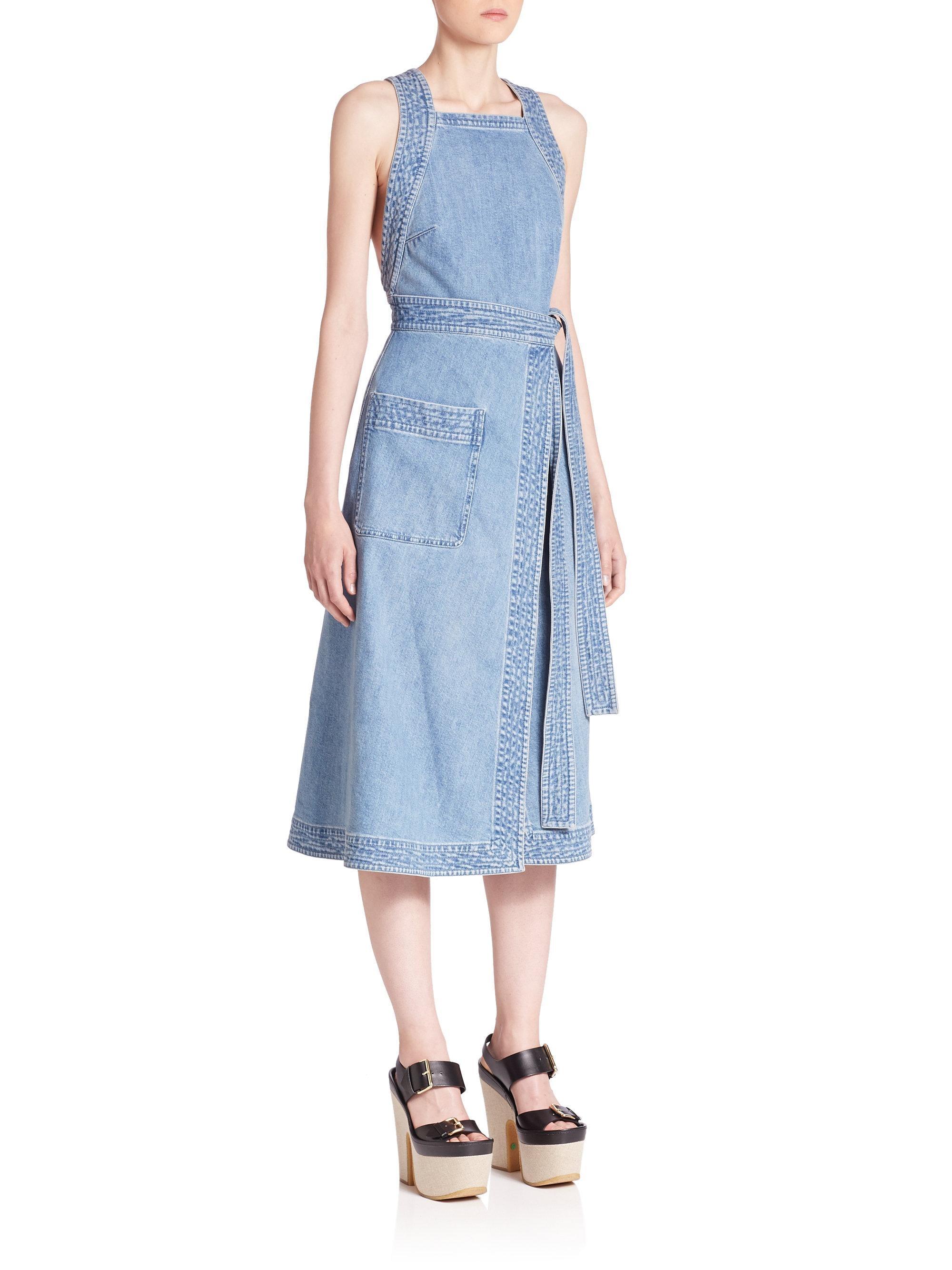 Kendall Jenner Stella McCartney Denim Dress   POPSUGAR Fashion
