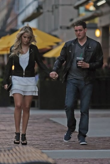 Michael Buble out in Vancouver with his gf