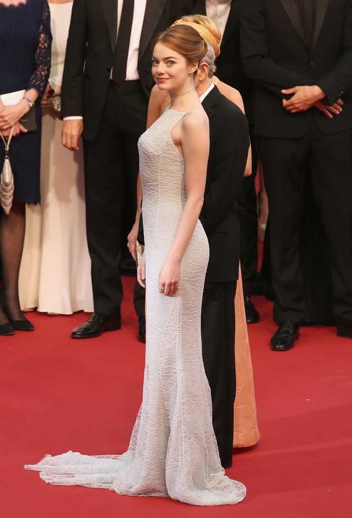 Is Emma Stone's Dress Too Bridal For the Red Carpet?