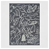 Birds and Butterflies Outdoor Rug